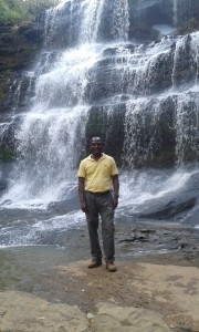 Waterfall near village where Ayamdooh now works